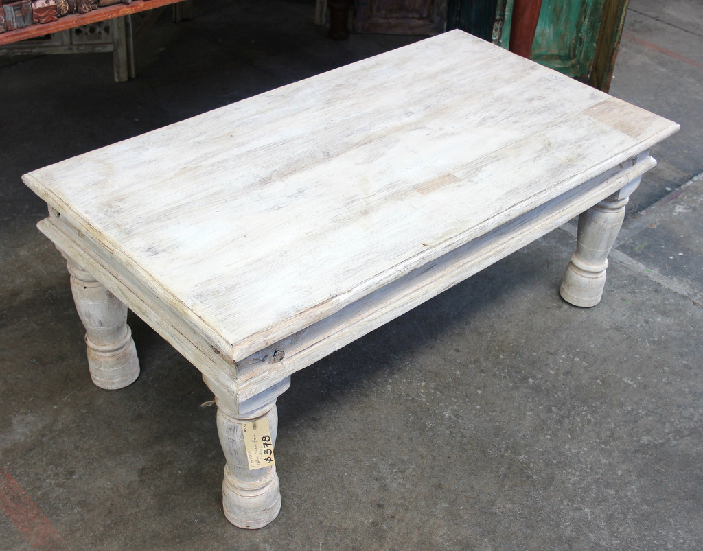 Coffee And Side Tables Coffee Table White Washed
