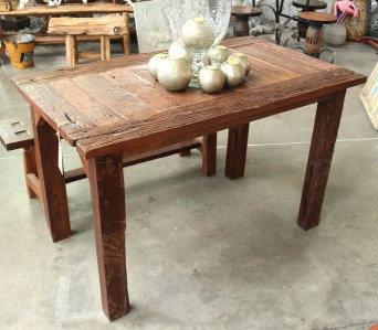 Pintana outdoor recycled teak table