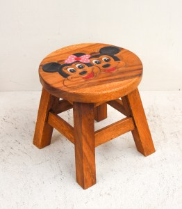 Teak Stool Small - Friends